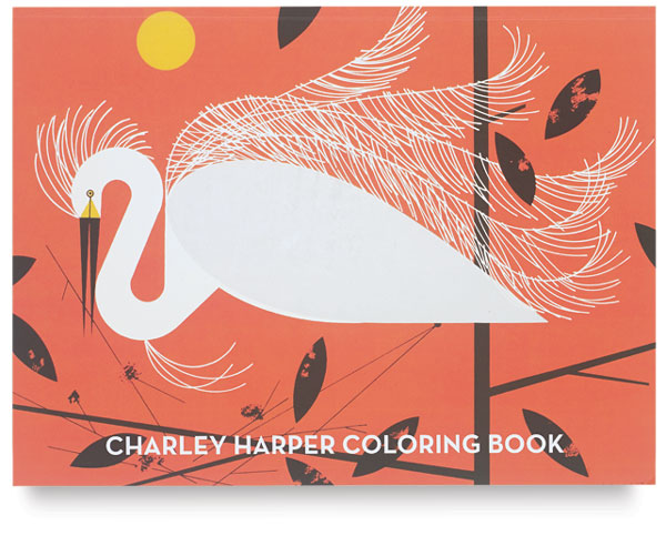 Charley Harper Deluxe Coloring Book