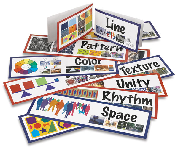 Art Display Cards, Elements of Design