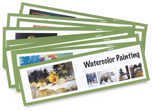 Art Display Cards, Painting Set