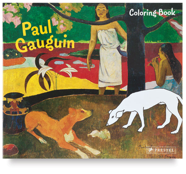 Paul Gauguin Coloring Book