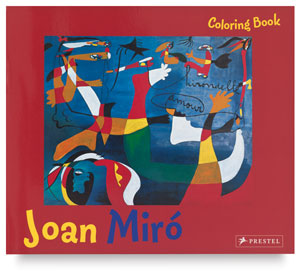 Joan Miró Coloring Book