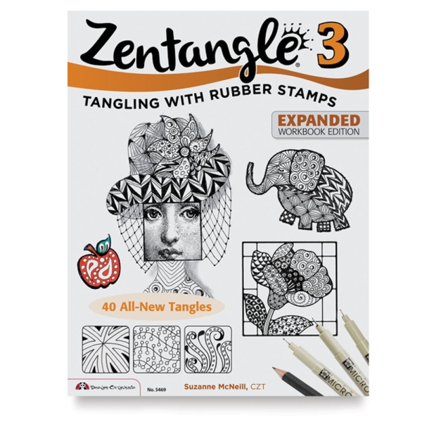Zentangle 3, Expanded: Tangling with Rubber Stamps