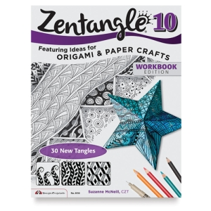 Zentangle 10, Expanded Workbook: Ideas for Origami & Paper Crafts