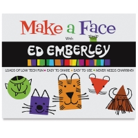 Ed Emberley On the Go! Drawing Pad Book, Make a Face