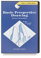 Art Is ... Basic Perspective Drawing DVD
