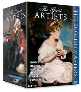 The English Masters, Boxed Set of All 6 DVDs