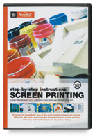 Speedball Step-by-Step Instructions: Screen Printing DVD