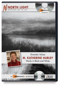 Dramatic Values: M. Katherine Hurley Works in Black and White