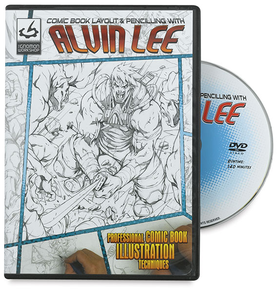 Comic Book Layout and Pencilling with Alvin Lee