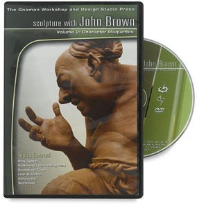 Sculpture with John Brown: Character Maquettes