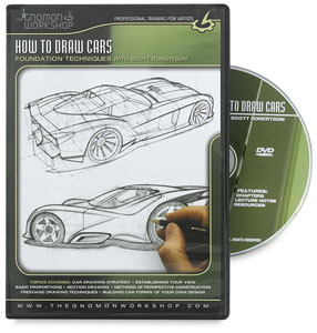 How to Draw Cars:<br>Foundation Techniques with Scott Robertson