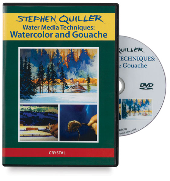 Stephen Quiller: Water Media Techniques: Watercolor & Gouache