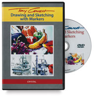 Drawing & Sketching with Markers DVD
