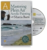 Mastering Plein Air Acrylic Painting with Marcia Burtt DVD