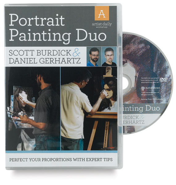 Scott Burdick & Daniel Gerhartz: Portrait Painting Duo