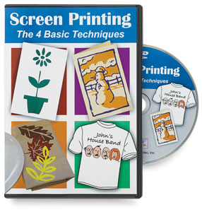 Screen Printing: The Four Basic Techniques DVD