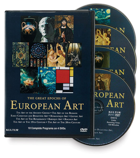 The Great Epochs of European Art, Set of 4