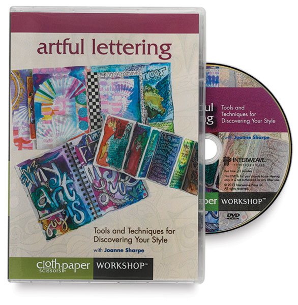 Artful Lettering DVD: Tools and Techniques for Discovering Your Style