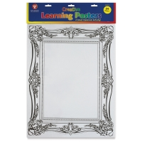 Creative Learning Frame Posters, Pkg of 24