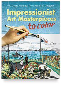 Color Your Own Impressionist Masterpieces