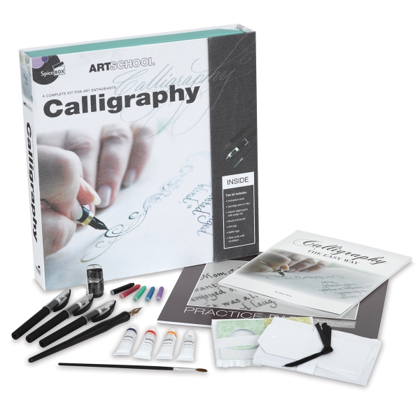 Spicebox Art School Calligraphy Kit - BLICK art materials