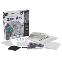 Spicebox Art School Zen Art Kit