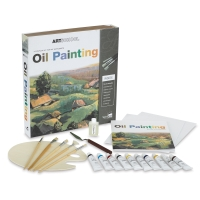 Spicebox Art School Oil Painting Kit