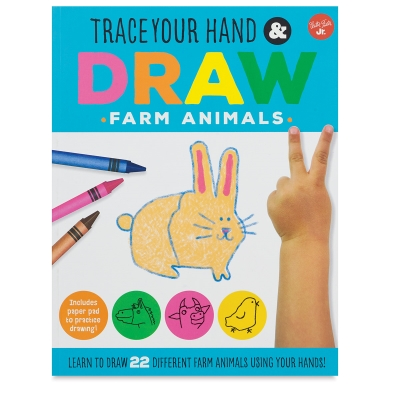 Trace Your Hand & Draw Farm Animals