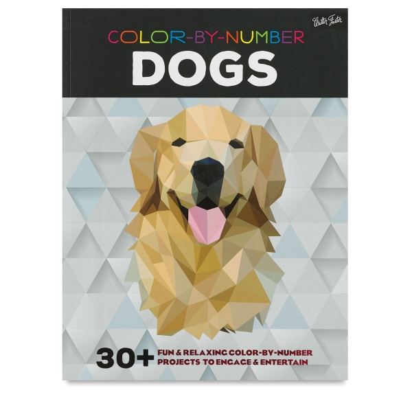 Color-by-Number Book, Dogs