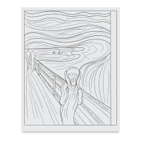 Master Prints: 34 Frameable Masterpieces to Color