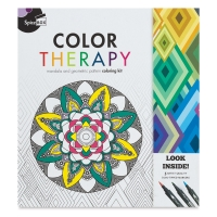 Spicebox Color Therapy Coloring Kit