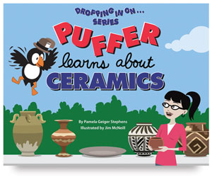 Dropping In On... Puffer Learns About Ceramics, Book