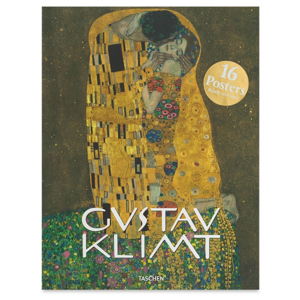 Gustav Klimt Poster Box, Set of 16