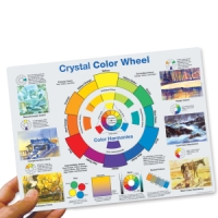 Crystal Productions Color Wheel Desk Reference
