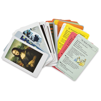 Usborne Famous Paintings Activity Cards, Set of 30