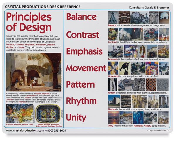 Elements & Principles Desk Reference, Front Side
