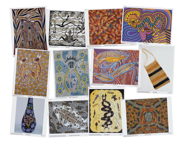 Aboriginal Art, Set 1