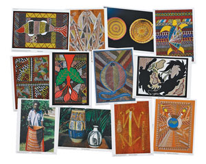 Aboriginal Art, Set 2
