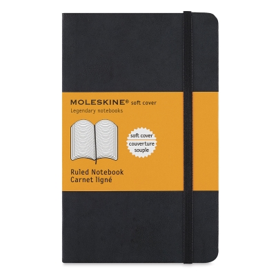 Soft Cover Notebook, Pocket, Lined