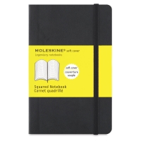 Soft Cover Notebook, Pocket, Gridded