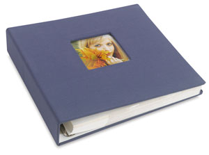 Ringbound Photo Album, Blue