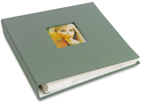 Ringboud Photo Album, Green