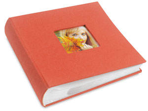 Bookbound Photo Album, Orange