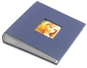 Bookbound Photo Album, Blue