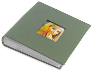 Bookbound Photo Album, Green