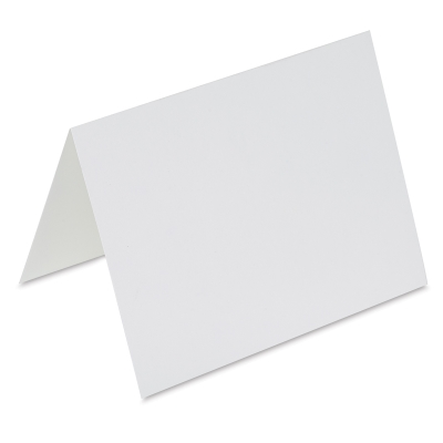 A2 Folded Cards, Pure White, Pk of 10