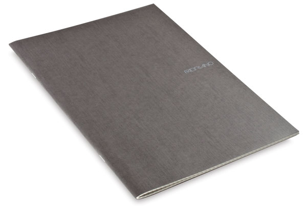 Grid Staplebound Notebook, Stone, 38 Sheets