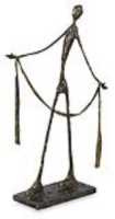 Modern Figure Sculpture in the style of Alberto Giacometti