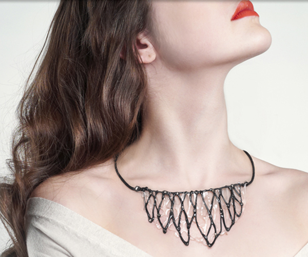 Acrylic Web Jewelry