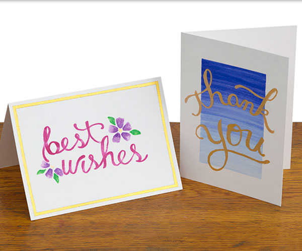 Hand Lettered Cards